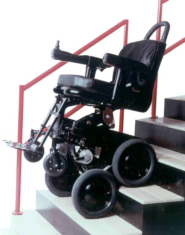 Sedia A Rotelle Per Arrampicata Su Roccia Sistema Di Mobilità Ibot